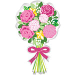 "'For You' Bouquet Balloon - 30"" Foil"
