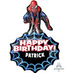 Spider-Man Personalized Foil Balloon - 34""