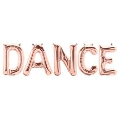 'DANCE' Rose Gold Foil Balloon Kit - 16""