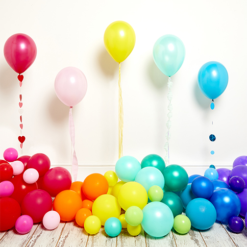 Balloons by Colour