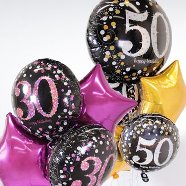 Adult Age Balloons
