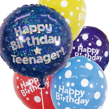 Teenagers Birthday