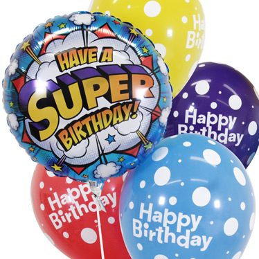 Children's Birthday Balloons