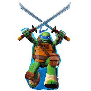 "Ninja Turtles Leonardo Balloon - 30"" Foil"