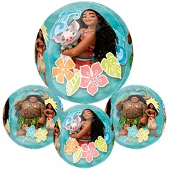 "Disney Moana Clear Orbz Balloon 16""-18"" Foil"