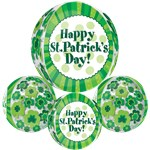 "St Patricks Day Orbz Balloon - 16""-18"" Foil"