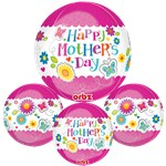 "Happy Mother's Day Orbz Balloon - 16""-18"" Foil"