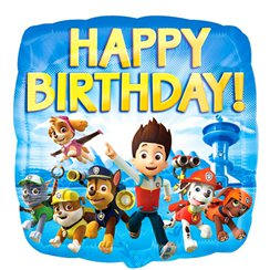 "Paw Patrol Happy Birthday Balloon - 18"" Foil"