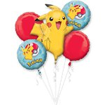 Pokemon Bouquet Foil Balloons