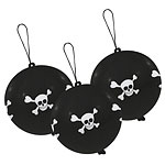 Skull & Crossbones Pirates Balloon Punch Balls - Latex