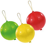 Fun Assorted Punch Ball Balloons - Latex