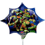 "Ninja Turtles Mini Airfilled Balloon - 9"" Foil"
