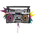 "Totally 80s Boom Box Supershape Balloon - 35"" Foil"