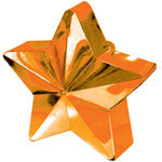Orange Star Balloon Weight - 168g