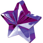 Purple Star Balloon Weight - 168g