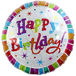 "Radiant Birthday Balloon - 18"" Foil"