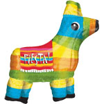 "Piñata Supershape Birthday Balloon - 27"" Foil"