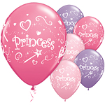 Princess Assorted Balloons - 11