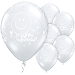"Retirement! Smile Face Balloons - 11"" Latex"