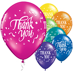 "Thank You Confetti Assortment Balloons - 11"" Latex"