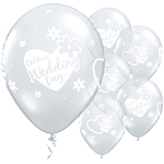 On Your Wedding Day Balloons - 11