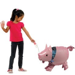 "Pig Airwalker Balloon - 24"" Foil"