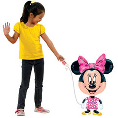 "Minnie Mouse Airwalker Balloon - 31"" Foil"