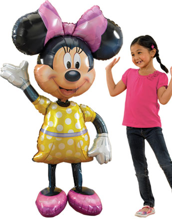 "Minnie Mouse Airwalker Balloon - 54"" Foil"