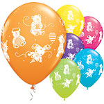 Cute & Cuddly Bears Assorted Balloons - 11