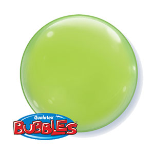 Lime Green Bubble Balloons - 15""