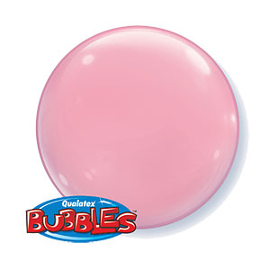 Pink Bubble Balloons - 15""