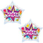 Birthday Blast Bubble Balloon - 22""