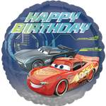 Cars Happy Birthday Foil Balloon - 18""