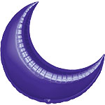 35'' Purple Crescent Foil