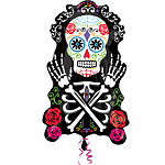 Day of the Dead Supershape Balloon - 18'' Foil