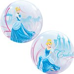 Cinderella's Royal Debut Bubble Balloon - 22""