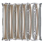 "Silver Half Decorator Panel Balloon - 21"" Foil"