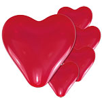 Red Heart Valentines Balloons - 11