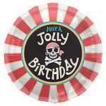 "Jolly Birthday Balloon - 18"" Foil"