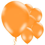 Orange Balloons - 11'' Latex