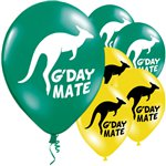 Australian G'Day Mate Balloon - 11'' Latex