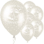 60th Anniversary Balloons - 12