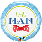 "Little Man Bow Tie Balloon - 18"" Foil"