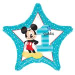 "Mickey Mouse 1st Birthday Balloon - 18"" Foil"