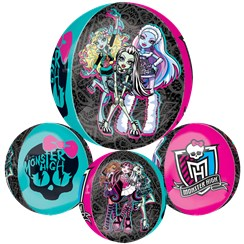 "Monster High Orbz Balloon - 25"" Foil"