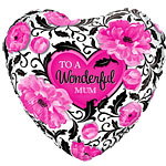 "Happy Mother's Day Wonderful Mum Balloon - 18"" Foil"