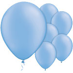 Neon Blue Balloons - 11'' Latex