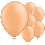 Neon Orange Balloons - 11'' Latex