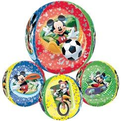 "Mickey Mouse Orbz Balloon - 16""-18"" Foil"