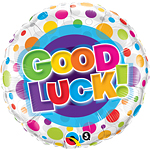 18'' Good Luck Colourful Dots